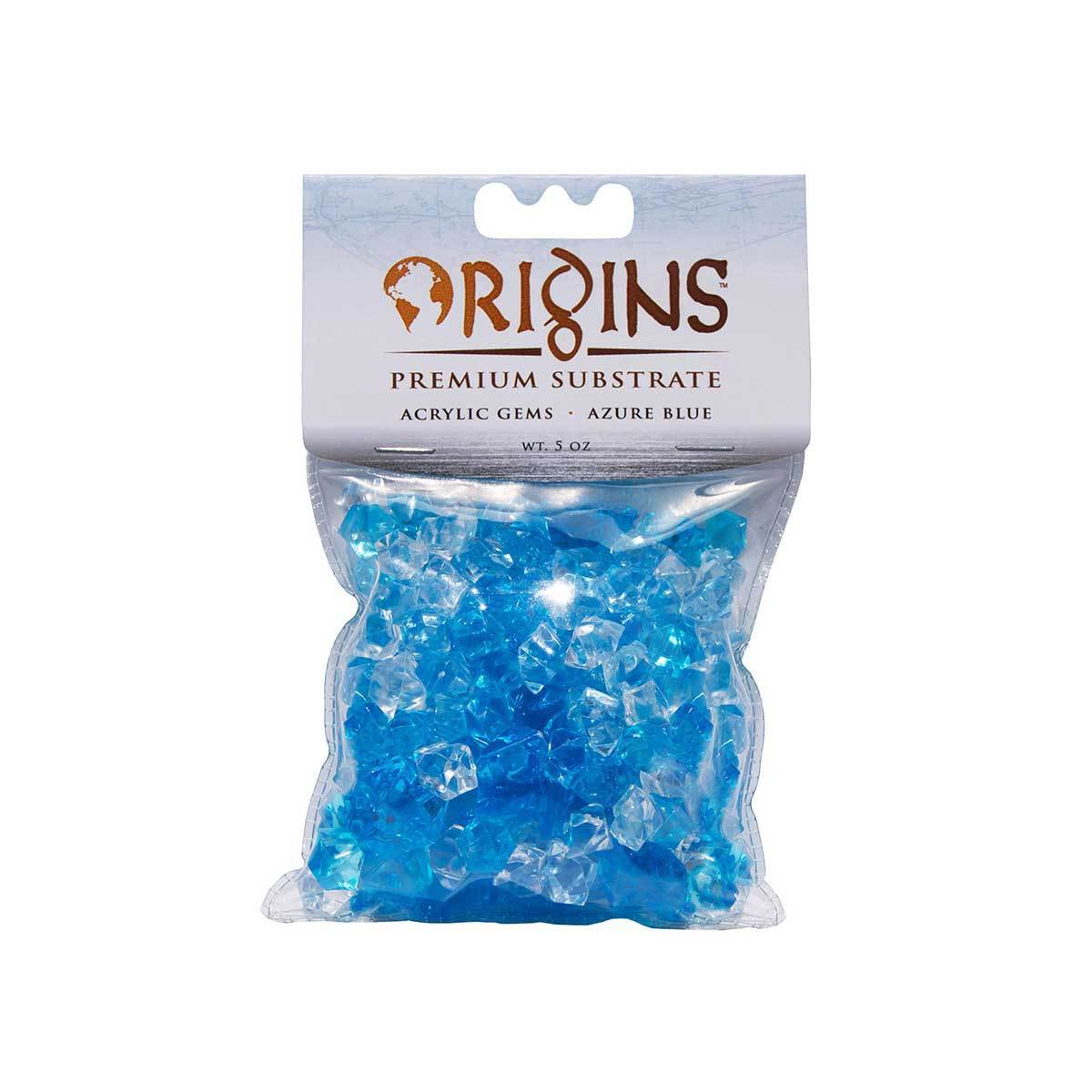 BioBubble Acrylic Gems 5 ounce bag (Glacier Blue)