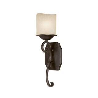 Capital Lighting Montana Collection 1-light Raw Umber Wall Sconce