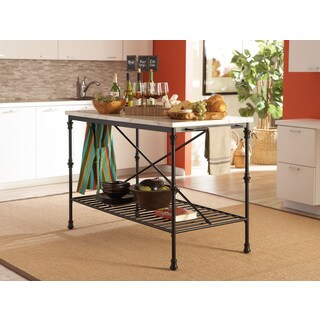 Coaster Company French Bistro Counter Height Kitchen Island
