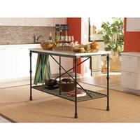 Carbon Loft Winchester Bistro Counter Height Kitchen Island