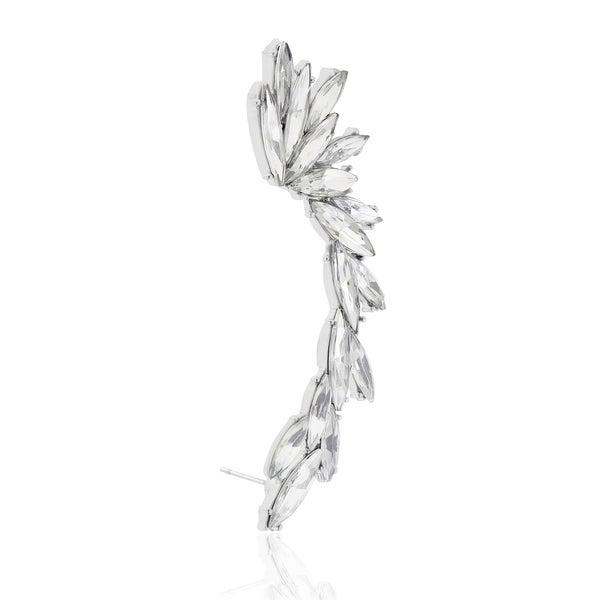 Adoriana Crystal Winged Ear Cuff