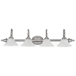 Capital Lighting Chandler Collection 4-light Matte Nickel Bath/Vanity Light