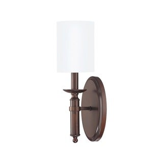 Capital Lighting Covington Collection 1-light Burnished Bronze Wall Sconce