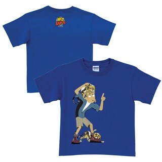 Wild Kratts Cheetah Cubs Royal Blue T-Shirt (More options available)