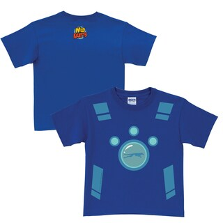 Wild Kratts Creature Power Suit Royal Blue T-Shirt