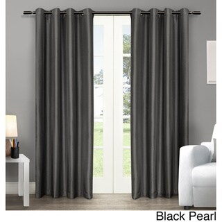 Copper Grove Fulgence Faux Silk Grommet Top Panel Curtains - N/ A