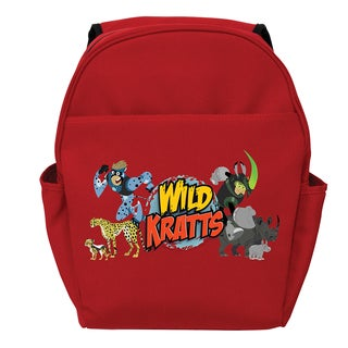 Wild Kratts Creature Adventure Red Toddler Backpack