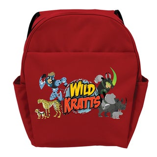 Wild Kratts Creature Adventure Red Youth Backpack