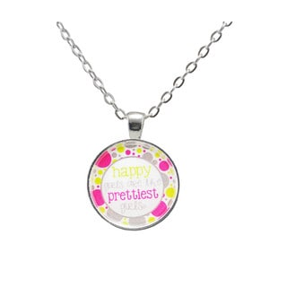 Be The Envy 'Happy Girls' Necklace