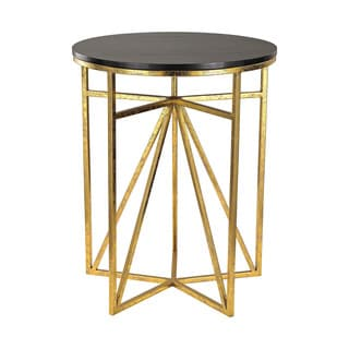 Sterling Geometric Accent Table