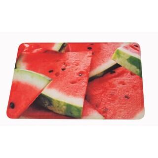 "Somette Watermelons Memory Foam Anti-fatigue Comfort Mat (18"" x 30"")"