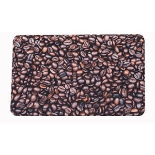 "Somette Coffee Beans Memory Foam Anti-fatigue Comfort Mat (18"" x 30"")"