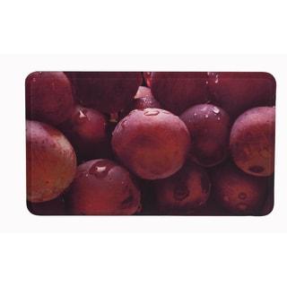 "Somette Grapes Memory Foam Anti-fatigue Comfort Mat (18"" x 30"")"