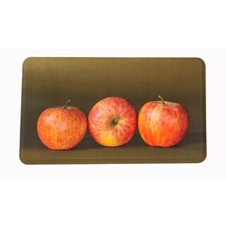 "Somette Apples Memory Foam Anti-fatigue Comfort Mat (18"" x 30"")"