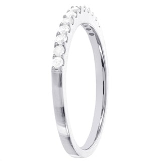 Sterling Silver 1/4ct TDW Diamond Anniversary Stackable Band