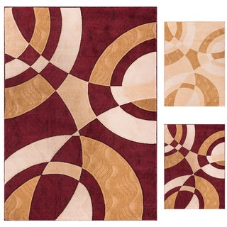 Well Woven My Home Soft Value Modern Shapes And Circles Rug (7'10 x 9'10)