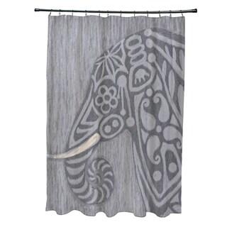 Inky Animal Print Shower Curtain (71 x 74)