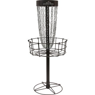 Metal Disc Golf Goal Set With 6 Discs Free Shipping