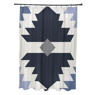 Mesa Geometric Print Shower Curtain (71 x 74)