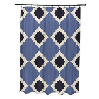 Medina Geometric Print Shower Curtain (71 x 74)