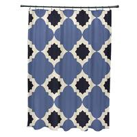Medina Geometric Print Shower Curtain (71 x 74)
