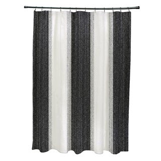 Striate Stripe Stripe Print Shower Curtain (71 x 74)