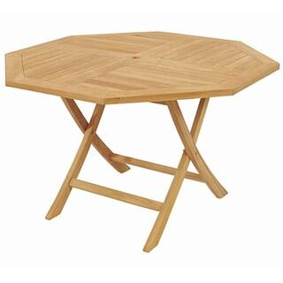 D-Art Teak Crestwood Octagonal Dining Table