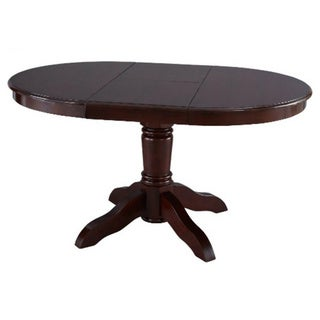 Irene dining table with butterfly extension free shipping today overstock com 17677296