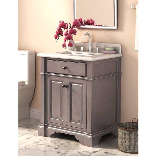 Casanova 28 Inch Vanity With Backsplash