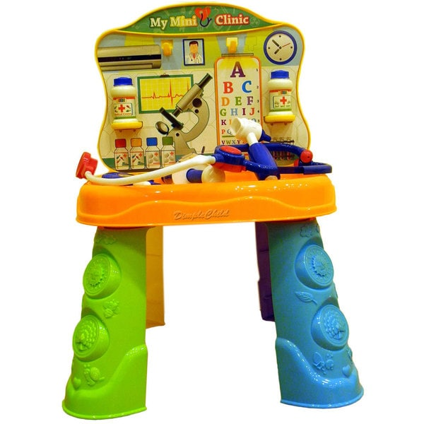 DimpleChild 2 in 1 Tools & Doctor Play Set