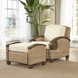Cabana Banana III Chair and Ottoman by Home Styles
