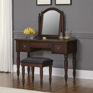 Country Comfort Vanity and Bench by Home Styles