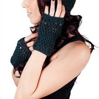 Handmade Loose Knit Gloves (Peru)