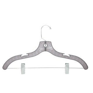 Honey-Can-Do Grey Crystal Suit Hangers (120-pack)