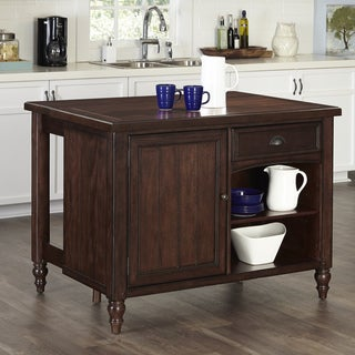 Gracewood Hollow Emily Country Kitchen Island
