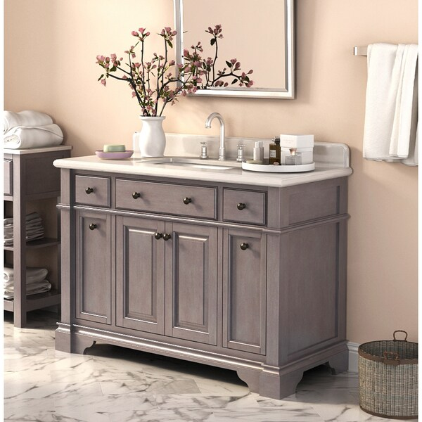 Casanova 48 Inch Vanity With Backsplash