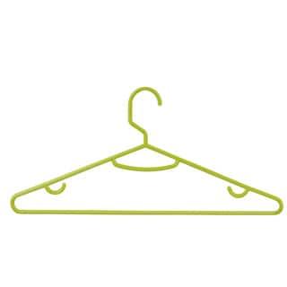 Honey Can Do Green Plastic Tubular Hangers (Pack of 60)