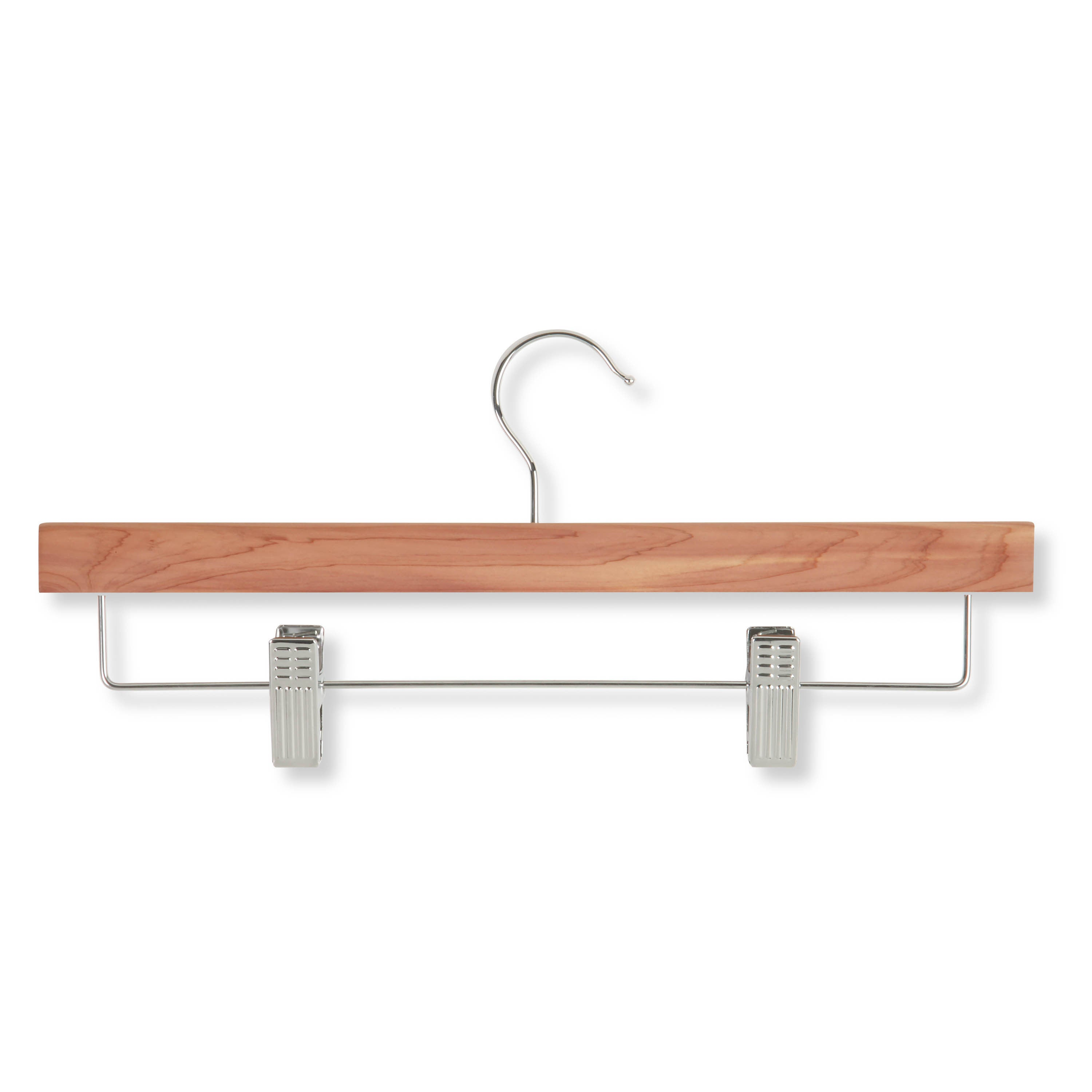 Honey-Can-Do HNG-01535 Cedar Skirt/ Pant Hangers With Cli...