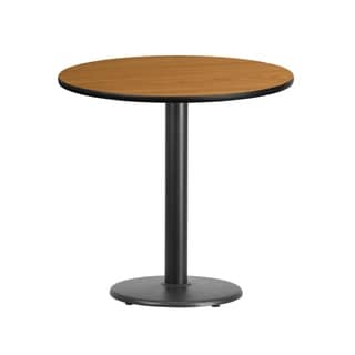 30'' Round Laminate Table Top with 18'' Round Table Height Base