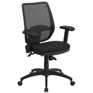 Mid-Back Mesh Executive Swivel Office Chair with Back Angle Adjustment