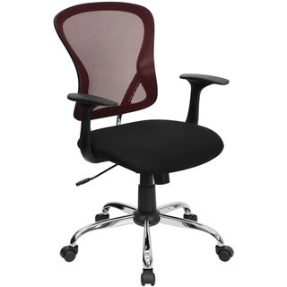 Mid-Back Mesh Office Chair with Finished Base