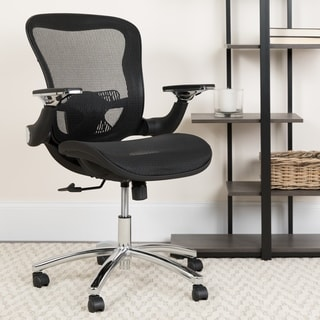 Mid-Back Mesh Executive Swivel Office Chair with Synchro-tilt