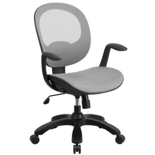 Mid-back Mesh Chair with Seat Slider and Ratchet Back