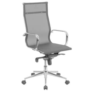 High Back Mesh Executive Swivel Office Chair with Synchro-tilt Mechanism