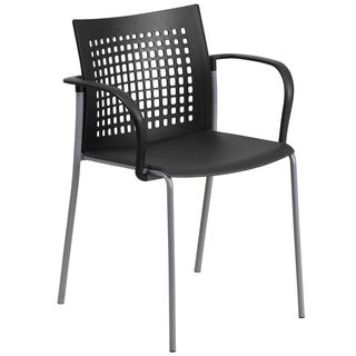 HERCULES Series 551 -pound Capacity Stack Chair with Air-vent Back and Arms
