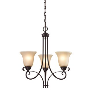 Cornerstone Brighton Oil Rubbed Bronze 3-light Chandelier