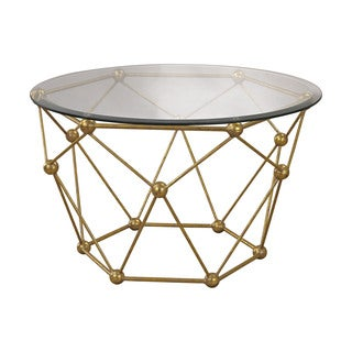 Sterling Molecular Accent Table