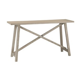 Sterling Driftwood Finish Console