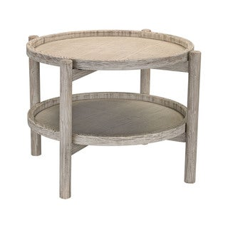 Sterling Driftwood Finish Side Table