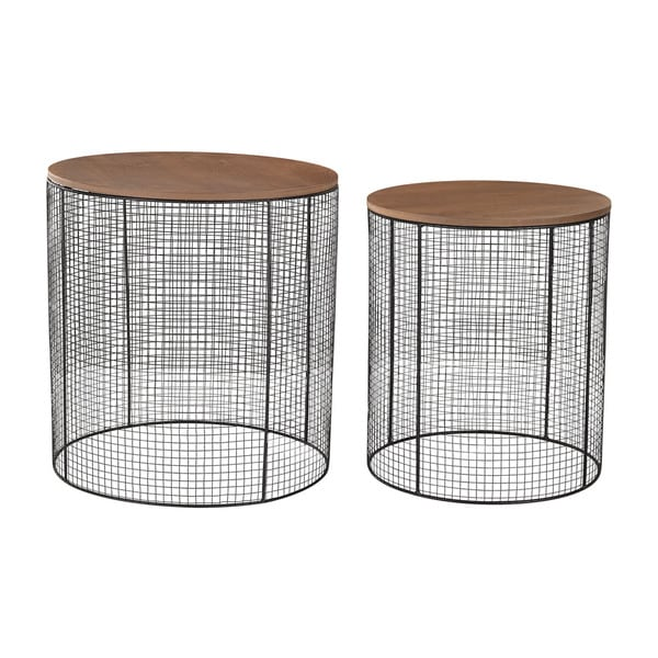 Sterling Wire Side Tables